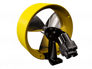 Thruster foot mountings equipment for subsea vehicles