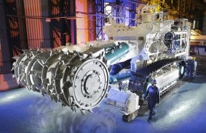 Subsea mining machine equipment SMD