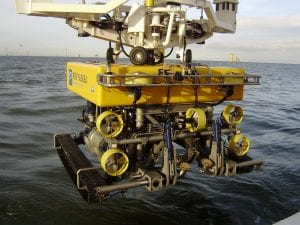 QTRENCHER 1000 OPERATING OFFSHORE