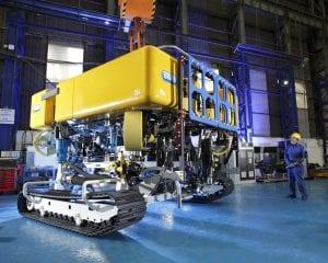 QT500 cable maintenance ROV