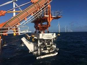 QTrencher 1600 offshore in the north sea