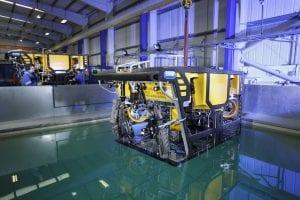 Quantum work class ROV