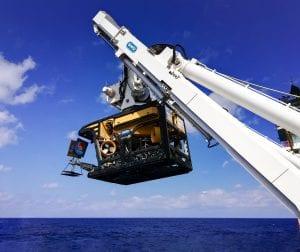 Quasar work class rov in south china sea